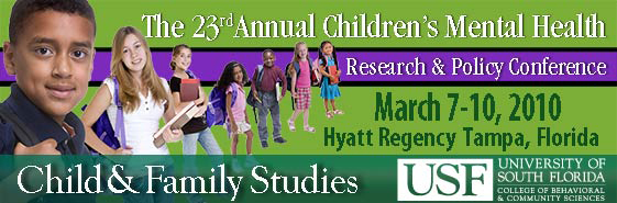 23rd Annual Children's Mental Health Research & Policy Conference
